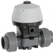 GEMU Actuated PVC diaphragm valve