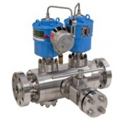 Habonim Multiport Ball valve with CompAct Actutor