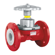 Richter PFA Lined Diaphragm valve
