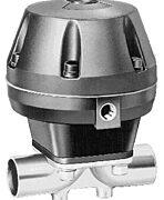 GEMU Actuated Sanitary Diaphragm valve Model 687