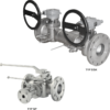AZ Armaturen Plug valves Type DSK & SP with Flushing Ports